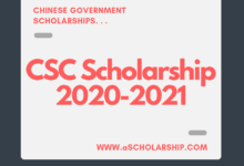 Chinese Government Scholarship 2020-2021 - CSC Scholarship - China Scholarship Council - Study in China