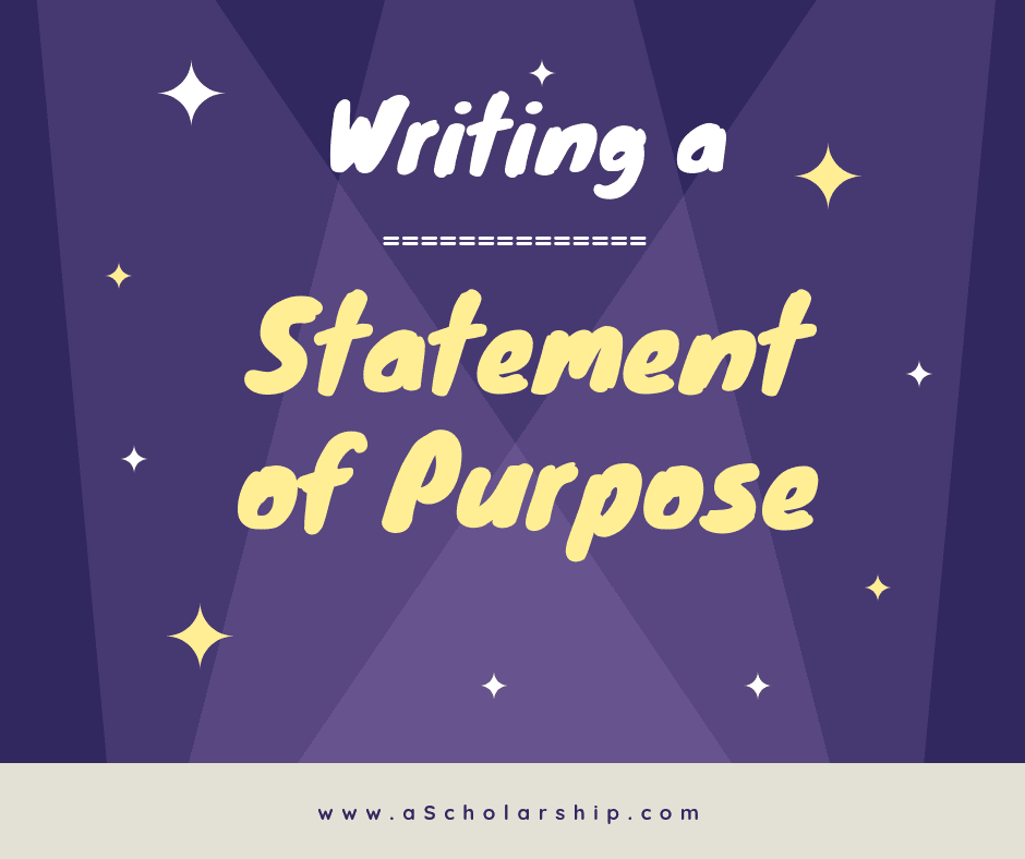 Statement of Purpose sample example template