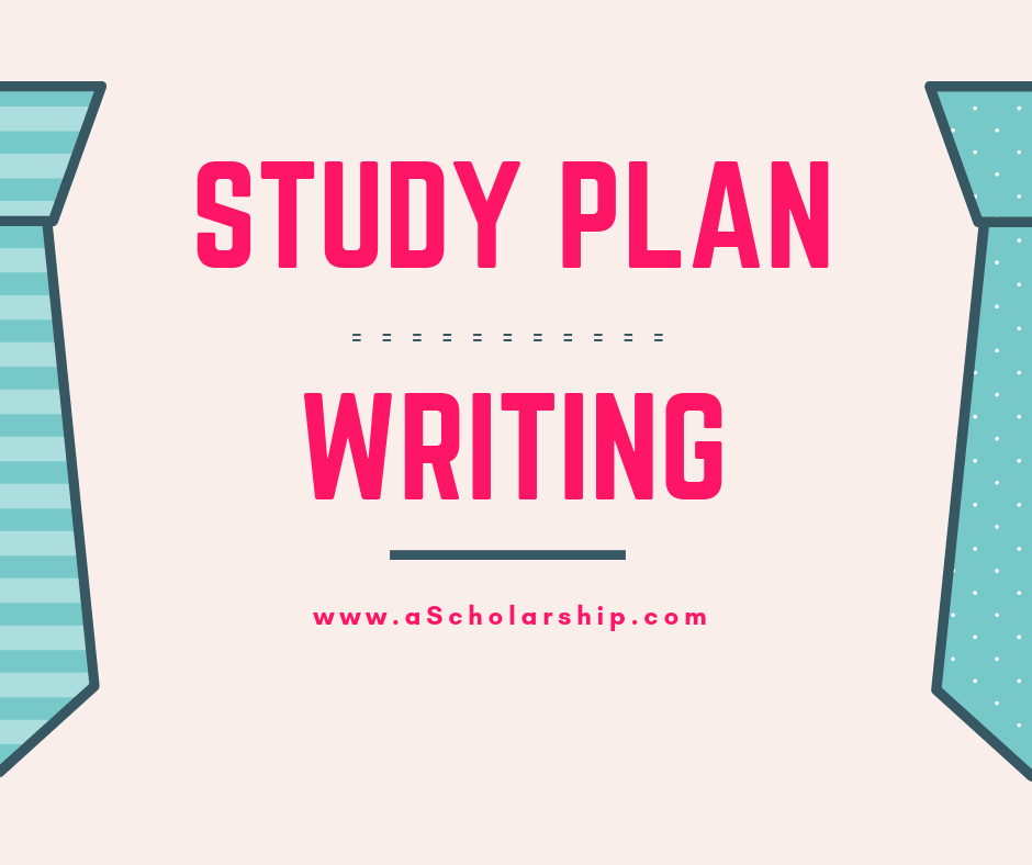 Study Plan Writing