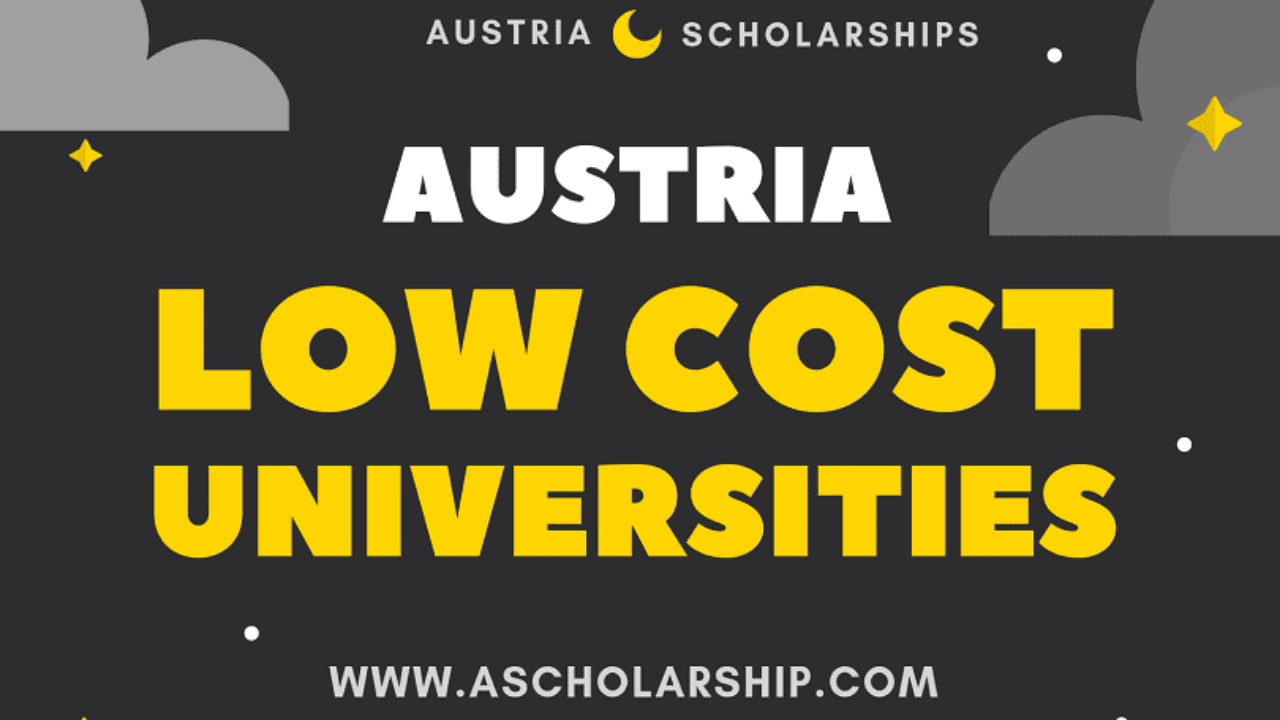 List Of Low Tuition Universities In Austria A Scholarship