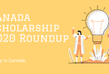 A Scholarship (ASSR) 2020 Roundup - Scholarships in Canada