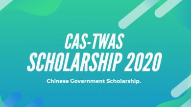CAS-TWAS Scholarship 2020 - CAS-TWAS Presidents Fellowship 2020