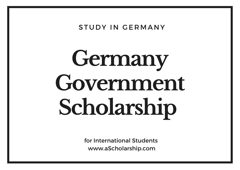 Germany Government Scholarship for international Students