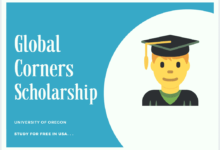 Global Corners Scholarship 2020-2021 at University of Oregon-Global Corners Scholarship Awards