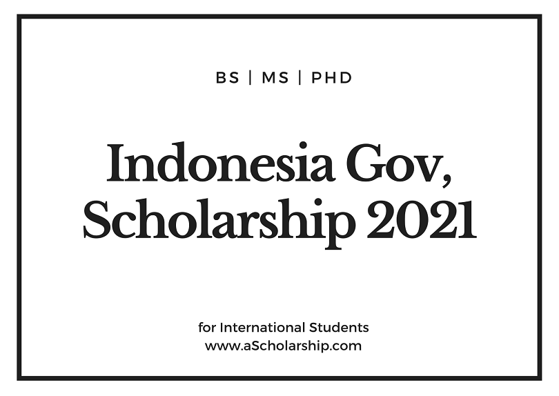 Indonesian Daramasisva Government Scholarship