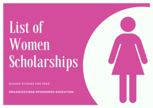 List of International Scholarship for Women