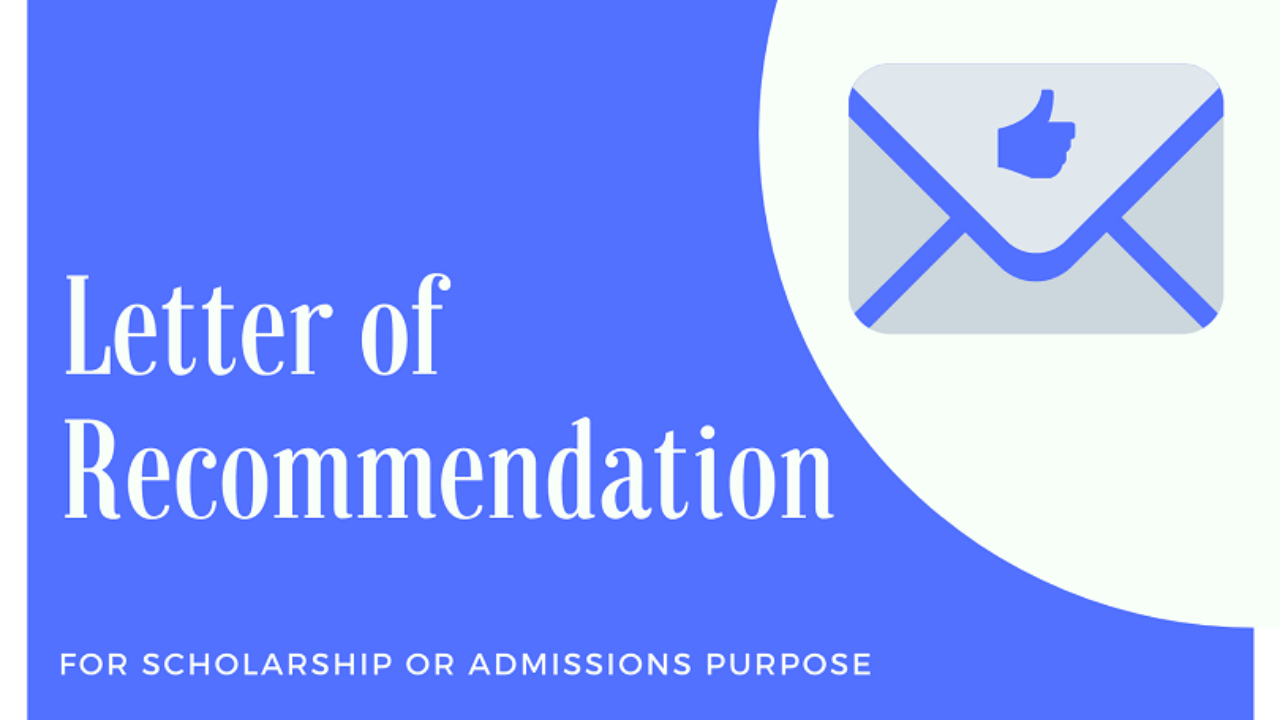 College Recommendation Letter Sample from ascholarship.com