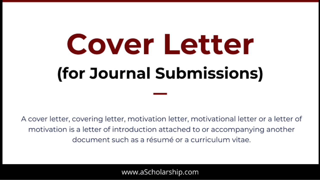 Cover Letter As Email Or Attachment from ascholarship.com