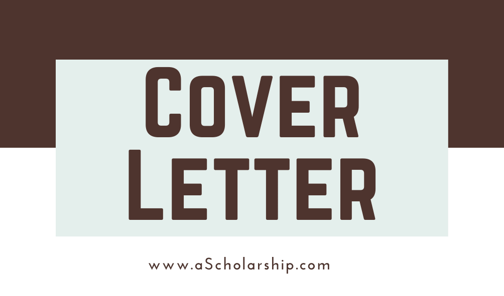 Writing A Cover Letter For An Internship Application Along With Examples A Scholarship